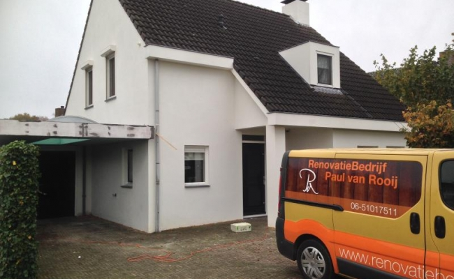 Stucadoren woonhuis